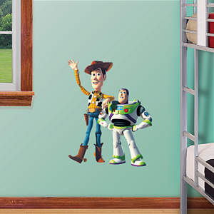 Woody & Buzz - Fathead Jr. Fathead Wall Decal